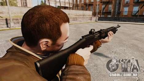 Espingarda tático auto SPAS 12 para GTA 4 segundo screenshot