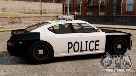 Buffalo policial LAPD v1 para GTA 4 esquerda vista