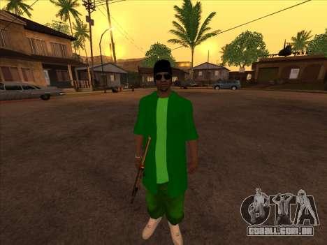 Nova pele Groove st. para GTA San Andreas terceira tela