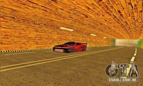 Elegy Sport para GTA San Andreas traseira esquerda vista