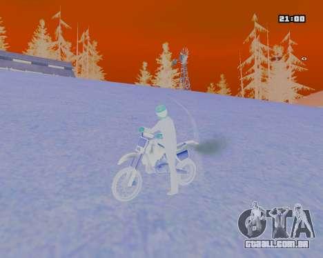 White NarcomaniX Colormode para GTA San Andreas terceira tela