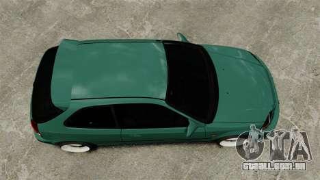 Honda Civic Al Sana para GTA 4 vista direita