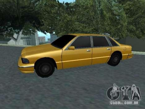 Premier para GTA San Andreas esquerda vista
