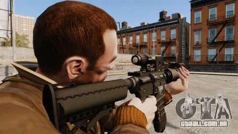 Tático M4 v2 para GTA 4 segundo screenshot