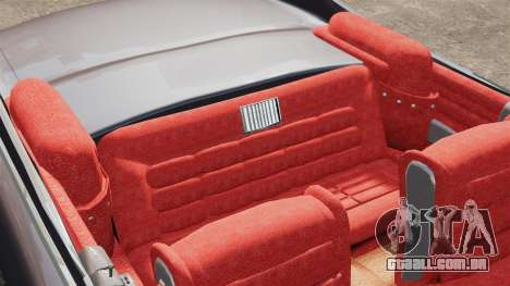 Cadillac Eldorado 1959 v1 para GTA 4 vista interior