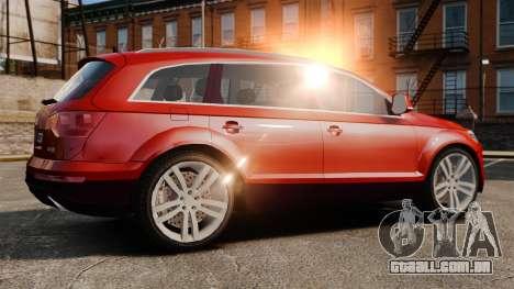 Audi Q7 para GTA 4 esquerda vista
