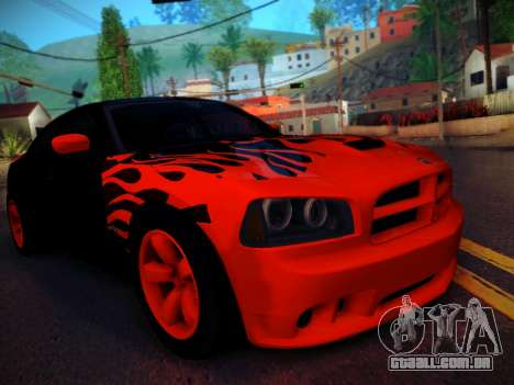 Dodge Charger SRT-8 Tuning para GTA San Andreas