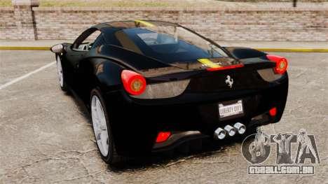 Ferrari 458 Italia 2010 Wheelsandmore 2013 para GTA 4