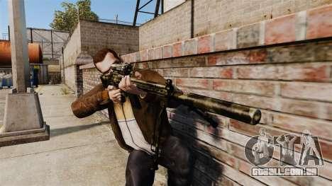 HK G3SG1 sniper rifle v2 para GTA 4 terceira tela