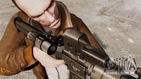 Tático M4 v3 para GTA 4