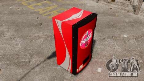 Máquinas de venda de coca-cola para GTA 4 terceira tela
