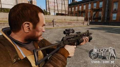 Submetralhadora pp-19 Bizon para GTA 4 segundo screenshot