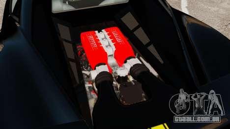 Ferrari 458 Italia 2010 Wheelsandmore 2013 para GTA 4 vista direita