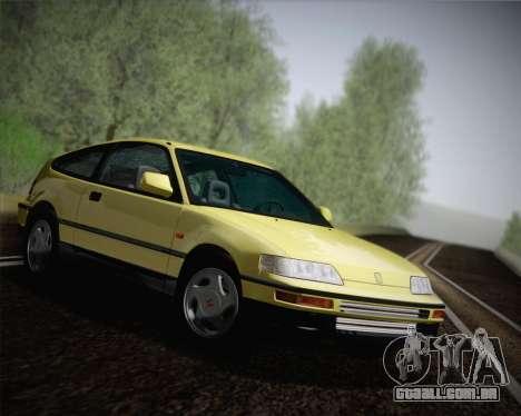 Honda CR-X 1991 para GTA San Andreas vista direita