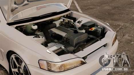Toyota Mark II 1990 v2 para GTA 4 vista de volta
