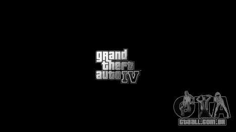 Atualizado menus e telas de carregamento para GTA 4 terceira tela