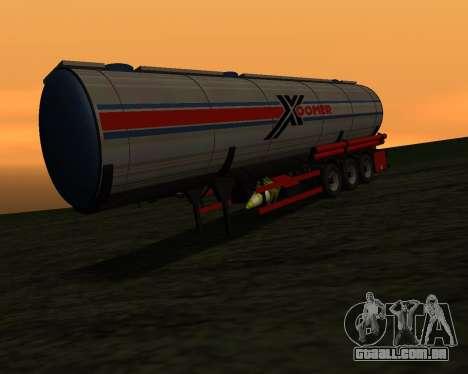 Semi-reboque Container Xoomer para GTA San Andreas