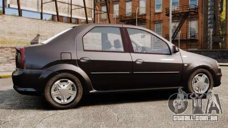 Dacia Logan 2008 v2.0 para GTA 4