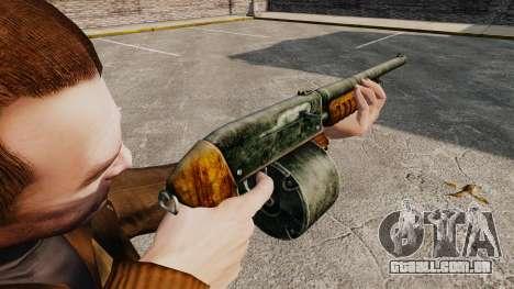 Shotgun da bomba-ação para GTA 4 segundo screenshot