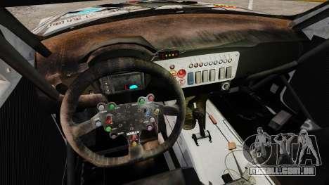BMW Z4 M Coupe GT Black Rock Shooter para GTA 4 traseira esquerda vista