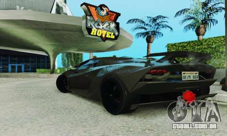 Lamborghini Sesto Elemento para GTA San Andreas vista interior