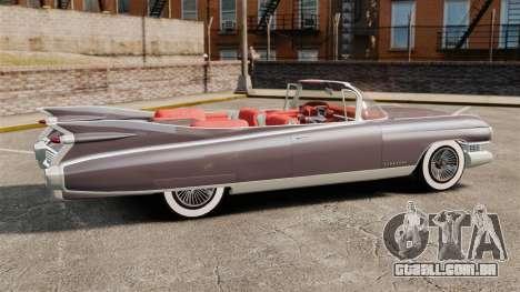 Cadillac Eldorado 1959 v1 para GTA 4 esquerda vista