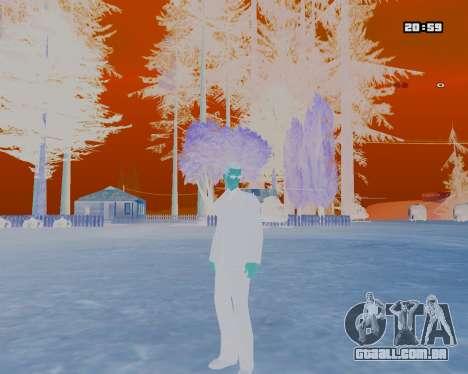 White NarcomaniX Colormode para GTA San Andreas segunda tela