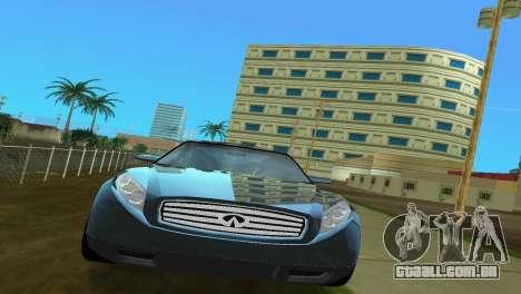 Infiniti Triant para GTA Vice City vista direita