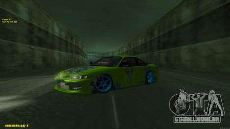 Nissan Silvia S14 CIAY para GTA San Andreas