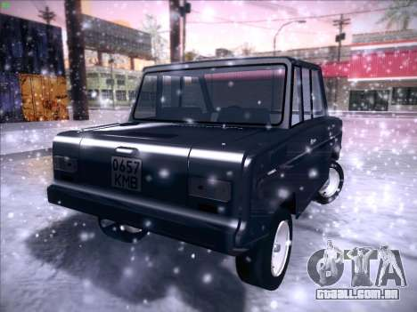 Seaz-3D para GTA San Andreas vista interior