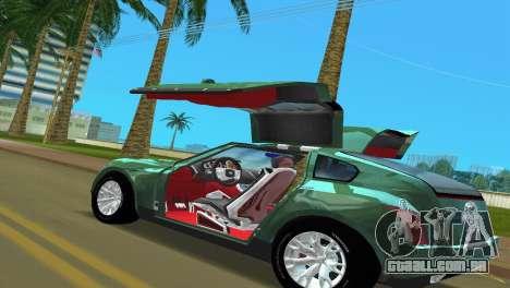 Infiniti Triant para GTA Vice City vista traseira esquerda