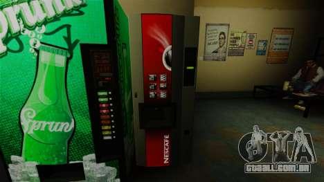 A máquina de escritório Nescafé para GTA 4