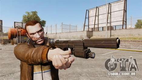 Pistola tática Glock 18 v2 para GTA 4 terceira tela