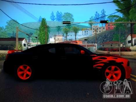 Dodge Charger SRT-8 Tuning para GTA San Andreas esquerda vista