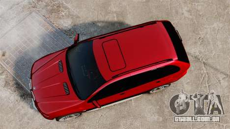 BMW X5 4.8iS v3 para GTA 4 vista direita
