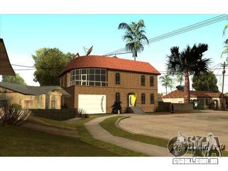 New CJ House para GTA San Andreas segunda tela
