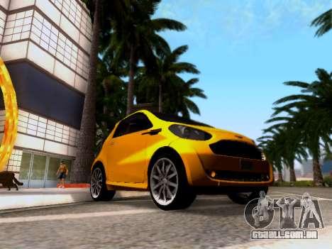 Aston Martin Cygnet 2011 para GTA San Andreas