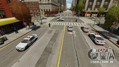 Mais polícia para GTA 4 segundo screenshot