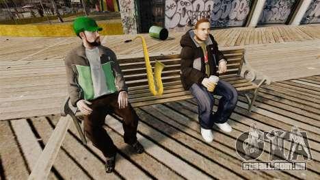 Um saxofone novo para GTA 4