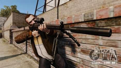 HK G3SG1 sniper rifle v1 para GTA 4 terceira tela