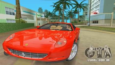 Ferrari 612 Scaglietti 2005 para GTA Vice City