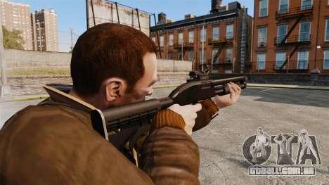 Tactical shotgun v2 para GTA 4 segundo screenshot