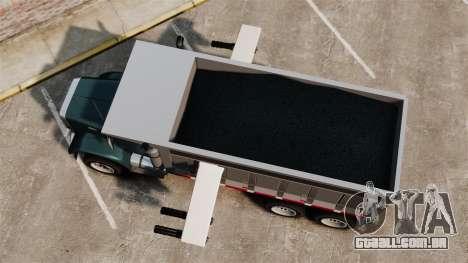 Novo caminhão Biff para GTA 4 vista direita