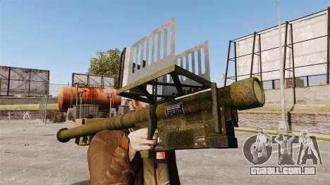 FIM-92 Stinger MANPADS para GTA 4 segundo screenshot
