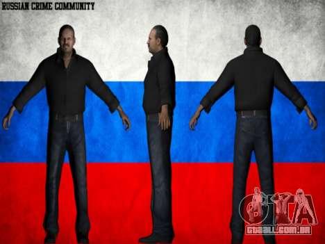 Russian Crime Community para GTA San Andreas