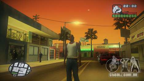 GTA HD Mod para GTA San Andreas terceira tela