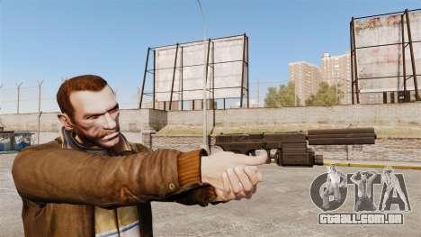 Pistola tática Glock 18 v2 para GTA 4