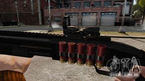 Tactical shotgun v2 para GTA 4 por diante tela