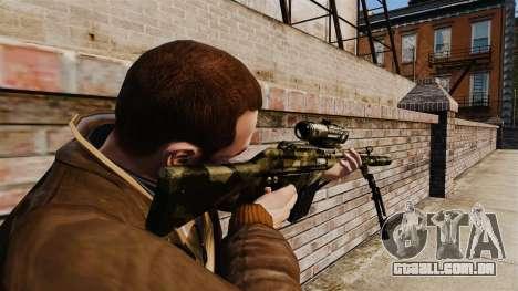 HK G3SG1 sniper rifle v2 para GTA 4 segundo screenshot