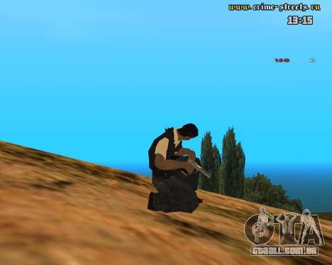 White Chrome Desert Eagle para GTA San Andreas terceira tela